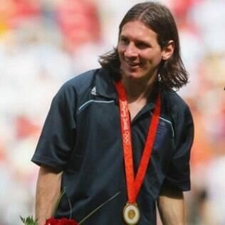 Argentina foi campeã no futebol masculino das Olimpíadas de Pequim, em 2008