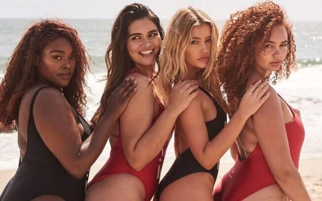 Brielle Anyea quer mostrar que os corpos reais não são tão perfeitos como os mostrados na capa da revista 'Vogue'