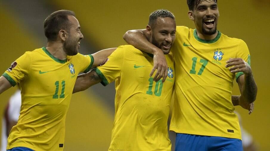 Brasil jogará contra a Colômbia no estádio do Corinthians pelas Eliminatórias