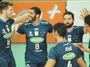 Sada Cruzeiro.   Time busca os 100% de aproveitamento na Superliga