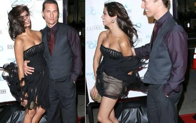 Assim como a brasileira Camila Alves, casada com Matthew McConaughey. Foto: Getty Images