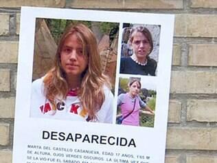 O corpo de Marta Del Castillo está desaparecido desde 2009