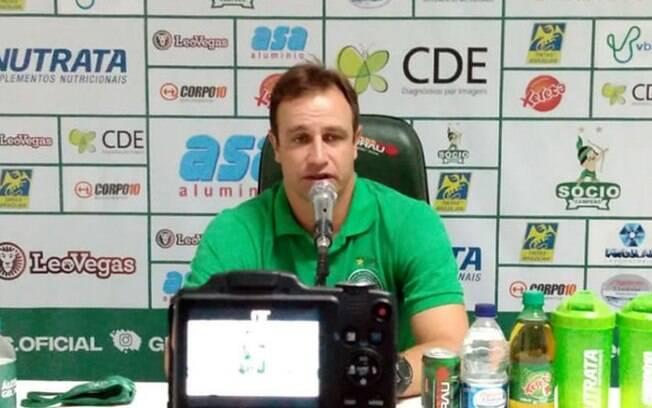 Técnico Felipe Conceição comemora atuação do Guarani