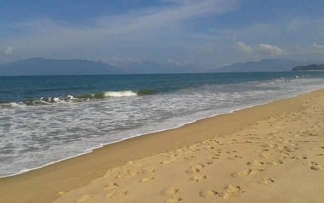 Apesar de ter muitas belezas naturais, a praia ainda é desconhecida por grande parte das pessoas