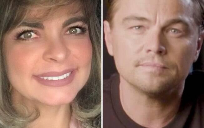 Liliane Ventura e Leonardo DiCaprio