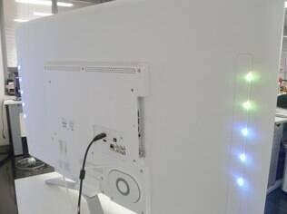 LEDs traseiros mudam de cor de acordo com a imagem