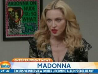 Após a primeira dose de tequila Wilkins brincou com Madonna: