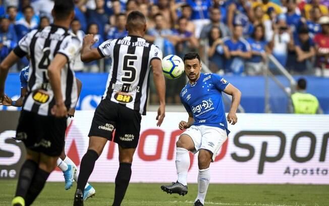 Cruzeiro e Atlético-MG fizeram o clássico mineiro no Mineirão