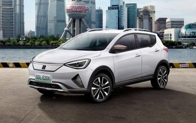 JAC e20x recebe características dos SUVs da SEAT — marca espanhola do grupo Volkswagen — mas é projetado do zero