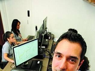 André Reis criou aplicativo  para controlar frota