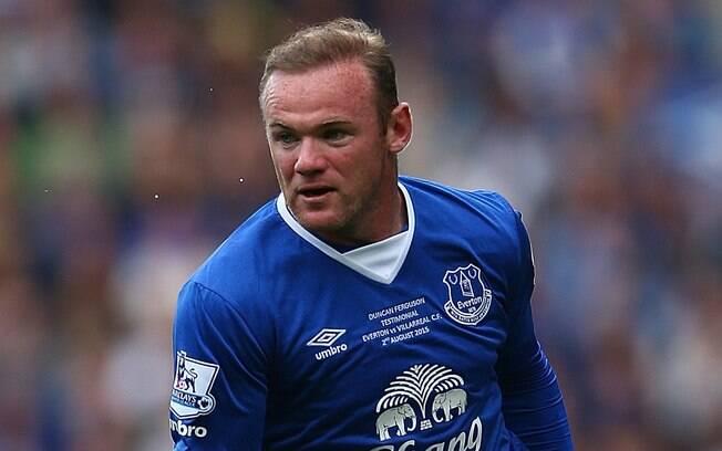 Wayne Rooney, jogador do Everton