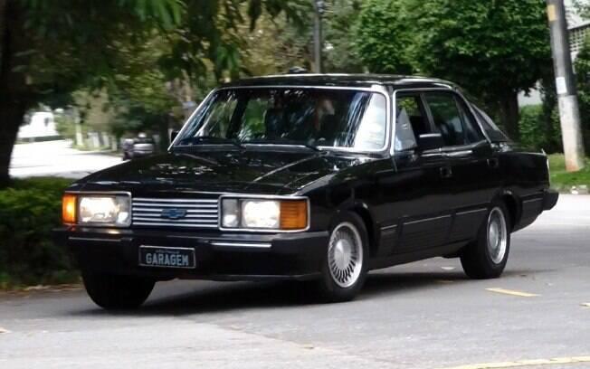 Chevrolet Opala Diplomata: Simplesmente o máximo em luxo que se podia adquirir, em tempos de mercado fechado