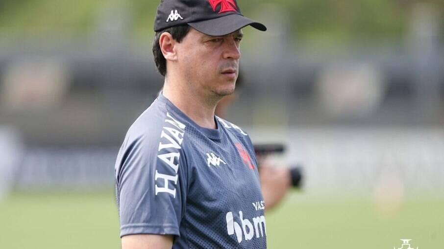 Fernando Diniz fará sua estreia no comando do Vasco