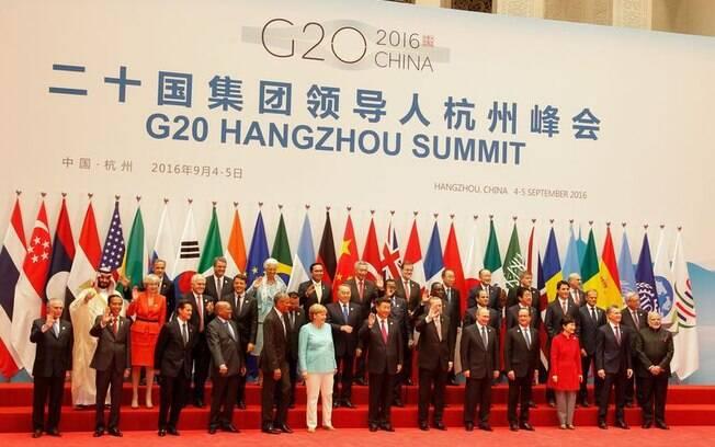 Presidente da República Michel Temer participou da Cúpula do G20 no ano passado, na China