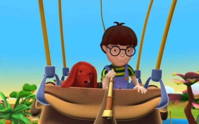 Alex, desenhos animados e educacionais