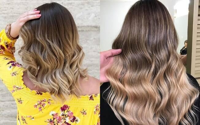mulheres com cabelo californiana