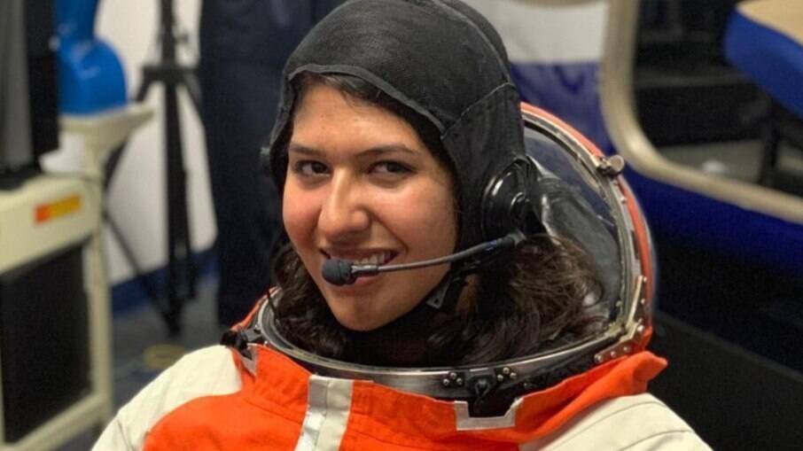 Andressa Costa Ojeda tem 20 anos e estuda engenharia aeronáutica em uma universidade nos Estados Unidos