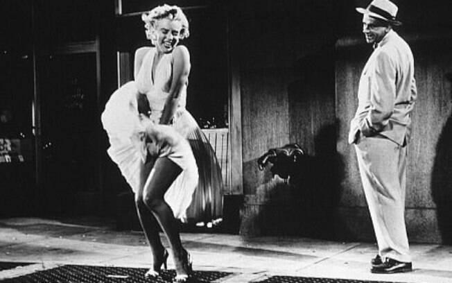 A cena clássica de Marilyn Monroe no filme 'The Seven Year Itch' aconteceu perto do Lexington Hotel, hotel em Nova York que foi ninho de amor da atriz com o marido DiMaggio e que está inaugurando uma suíte em homenagem aos dois