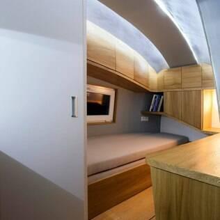 Neste projeto, sustentabilidade e e o conforto de um hotel andam juntos