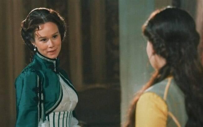 Nos Tempos do Imperador: Luísa jorra sangue, Pilar a salva e entra em estado de choque ao descobrir seu segredo mais cabeludo