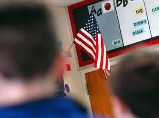 Juramento foi feito em diversos idiomas devido a Semana das Línguas Estrangeiras