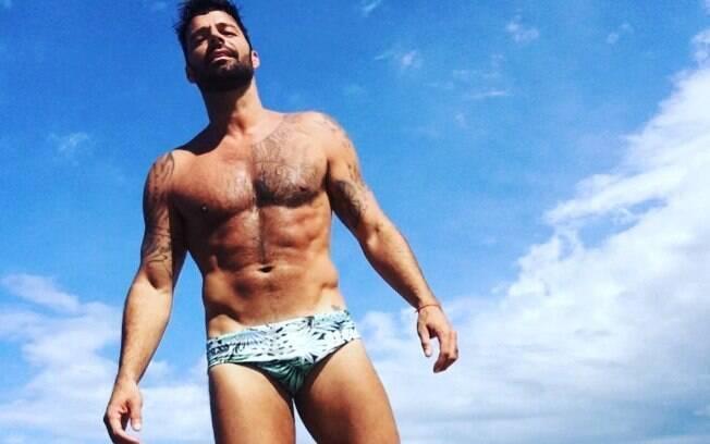 Ricky Martin é um dos famosos que chegou bem aos 40