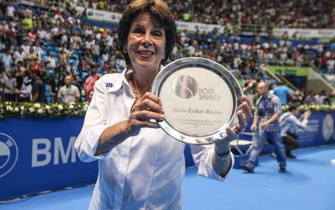 Maria Esther Bueno, ex-tenista, faleceu no mês de junho de 2018