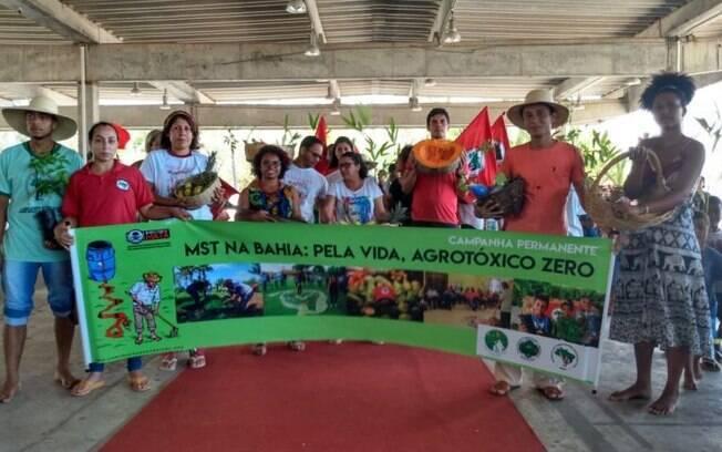 Bahia foi um dos Estados que já recebeu as primeiras mudos do plano de reflorestamento do MST