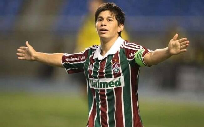 Fluminense se desculpa por cortar Conca de foto do título brasileiro: 'Descuido lamentável'