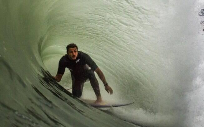 Caio Vaz pega tubo gigante