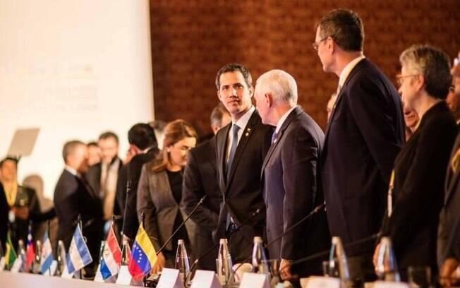 Em fevereiro, Juan Guaidó participou da reunião do Grupo de Lima que falou sobre Maduro