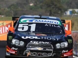 Átila conquistou a pole position em Ribeirão Preto