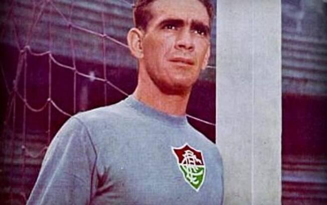 Castilho marcou época no Fluminense e  participou de quatro Copas do Mundo com a seleção  brasileira