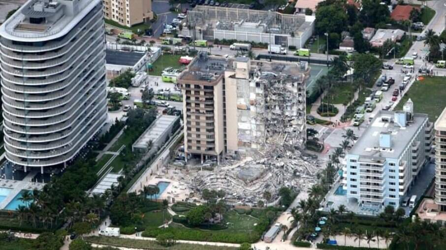 Sobe número de mortos em desabamento de prédio em Miami; 159 estão  desaparecidos | Mundo | iG