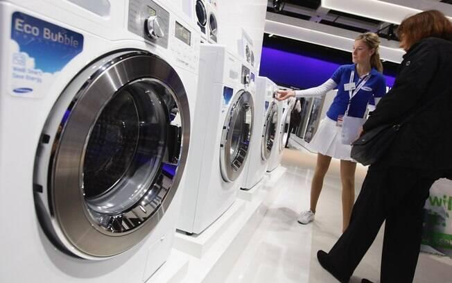 3,9 milhões de máquinas de lavar. Foto: Getty Images