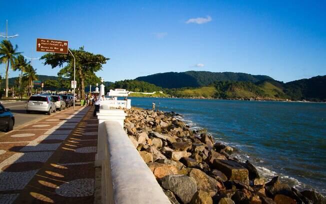 A última das praias de Santos, a Ponta da Praia traz algumas surpresas que vão agradar a todos da família