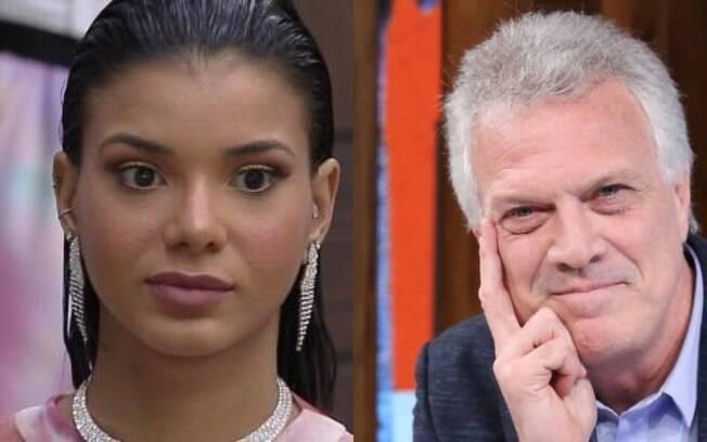 Pedro Bial é citado em discurso de eliminação de Jake