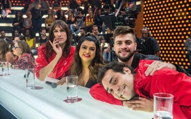 Além de José Loreto e Débora Nascimento, Preta Gil e Rodrigo Godoy também participaram do programa