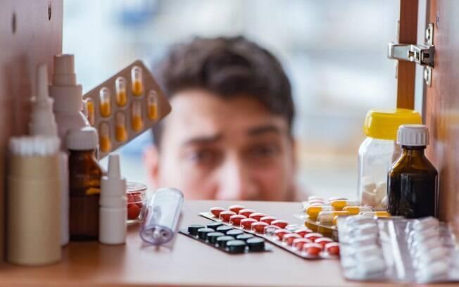 medicamentos em casa