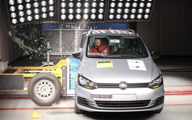 O VW Fox não foi bem nos testes mais rigorosos do Latin NCAP, órgão que avalia segurança veicular na América Latina