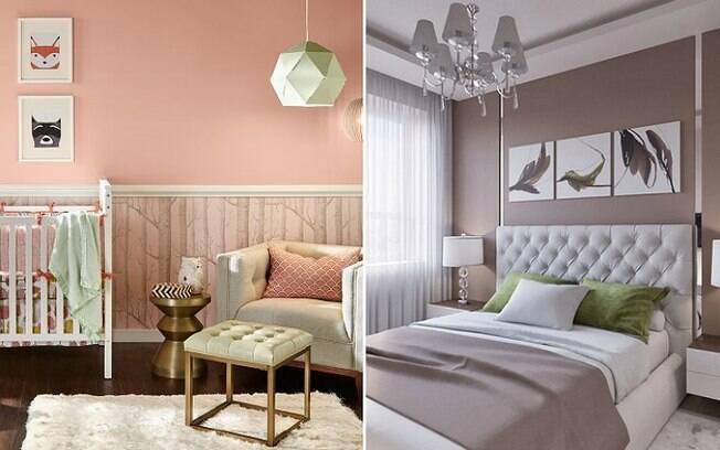 Para ter um quarto aconchegante, as cores que são utilizadas na parede podem ajudar a alcançar o resultado desejado