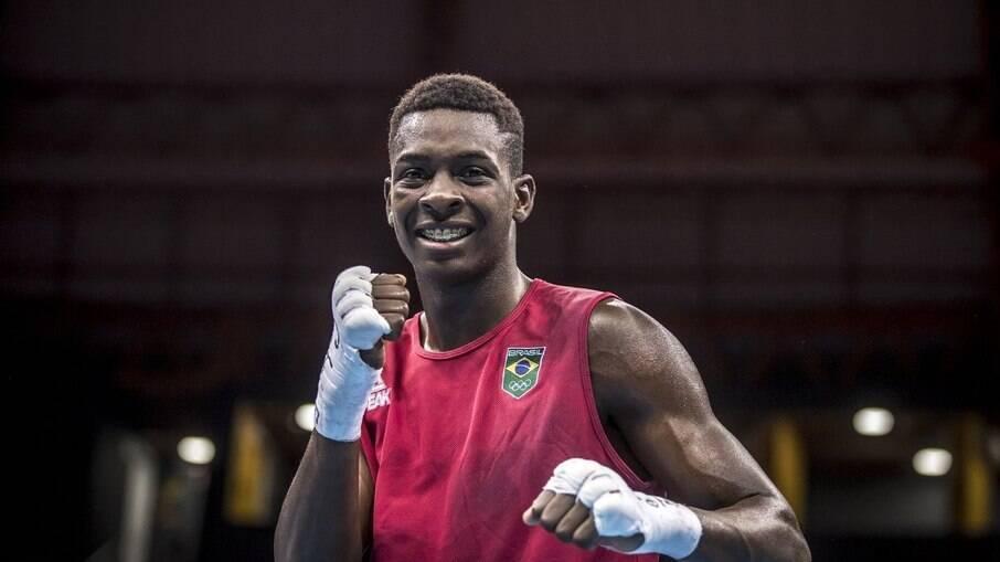 Keno Marley está fora dos Jogos Olímpicos