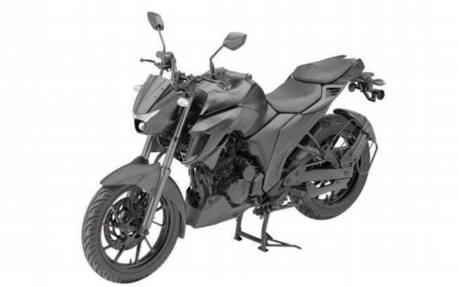 Registro da nova Yamaha Fazer 250 2021 no INPI revelam similaridade com a