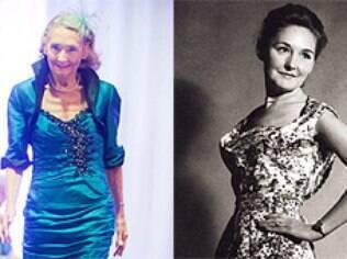 Marion Finlayson chegou a desfilar durante adolescência, mas desistiu para ser professora
