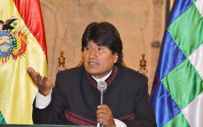 O presidente da Bolívia, Evo Morales, que chefia Poder Executivo do país andino desde 2006