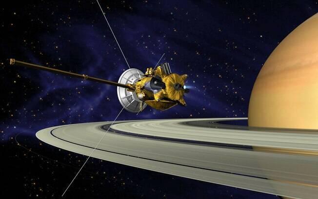 Depois de oito bilhões de quilômetros percorridos, missão chegará ao fim ao adentrar a atmosfera de Saturno