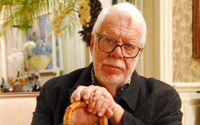 O autor de novelas Manoel Carlos: aos 79 anos, prepara uma minissérie e a última Helena