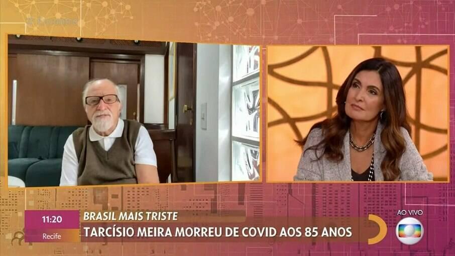 Ary Fontoura falou sobre morte de Tarcísio Meira