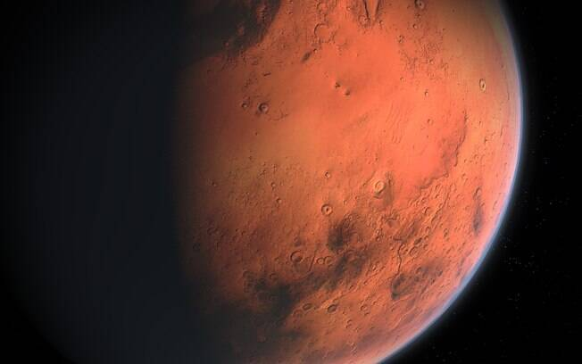 O planeta Marte ficará o mais próximo da Terra desde 2003 no último dia do mês de julho