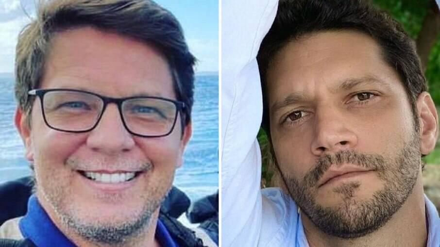 Mario Frias e Armando Babaioff